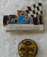 Pin's - Automobiles - F1 - RHONE POULENC - Signé Arthus BERTRAND - - F1