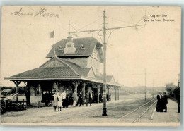 De Haan 1915 Gare Du Tram Electrique Coq Sur Mer Feldpost WK I 5.Kompanie ZELDZAME UITGAVE - De Haan