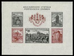 CSR Block 16B ** PRAGA 1955 = CESKOSLOVENSKO - PRAHA 1955 MEZINARODNI VYSTAVA POSTOVNICH ZNAMEK - Blocks & Sheetlets