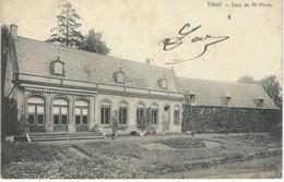 DIEST : Parc De Mr Pieck - TRES RARE CPA - Cachet De La Poste 1906 - Diest