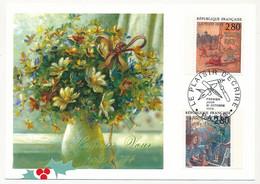 FRANCE => 6 Cartes Maximum - Le Plaisir D'écrire - Série Complete N°2836/2847 - PARIS 21 Octobre 1993 - 1990-99