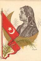 CPA - AFRIQUE EGYPTE Portrait Zenab Zehab 522 - Unclassified