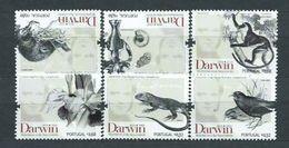 Año 2009 Nº 3363/8 Personalidades. Charles Darwin - Unused Stamps