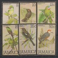 Jamaica - 1980 - N°Yv. 485 à 490 - Oiseaux / Birds - Neuf Luxe ** / MNH / Postfrisch - Non Classificati