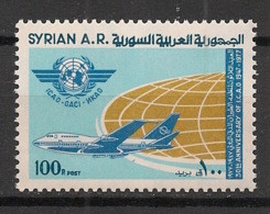 Syrie - 1977 - N°Yv. 488 - OACI - Neuf Luxe ** / MNH / Postfrisch - Syria