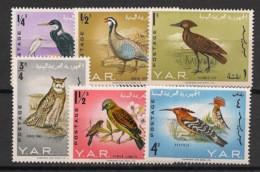 Yemen (YAR) - 1965 - N°Yv. 103 à 108 - Oiseaux - Neuf Luxe ** / MNH / Postfrisch - Yemen