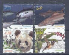 Año 2010 Nº 3466/9 Año Internacional De La Biodiversidad - Unused Stamps