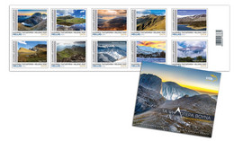 GREECE STAMPS 2021/THE MOST HIGHEST MOUNTAINS IN GREECE-7/6/21-MNH-SELF ADHESIVE-BOOKLET - Unused Stamps