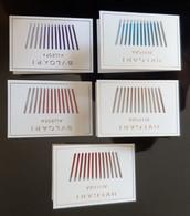 BULGARI Allegra Parfum Lot De 5 Double Cartes - Modern (from 1961)