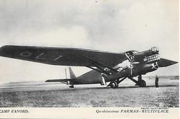 A/217          Aviation      Quadrimoteur - Farman-multiplace - 1919-1938: Entre Guerras