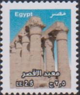EGYPT , 2018, MNH, DEFINITIVES, ARCHAEOLOGY, LUXOR TEMPLE, TEMPLES, 1v - Archéologie