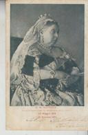 CASE REALI  S. M. VITTORIA  REGINA D'INGHILTERRA  1901 - Familles Royales