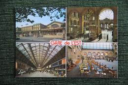 PARIS - Gare De L'EST - Métro Parisien, Gares