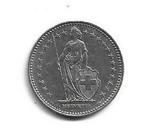 Suisse ½ Fr 1946 - 1957 - Demi Franc; Switzerland + 1 Fr 1992 - Suiza