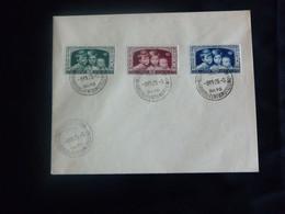 """BELG.1935 404 FDC Blanco( Bruxs )  : """" Enfants Royaux - Koningskinderen  """" - ....-1951"""