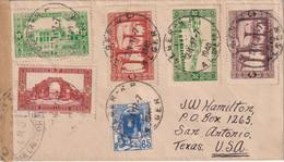 ALGERIE  1940 LETTRE CENSUREE DE ALGER - Briefe U. Dokumente