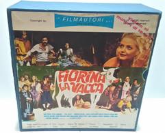 FIORINA LA VACCA RARO FILM COLORI SUPER 8 SONORO BOX 5 BOBINE: - Other
