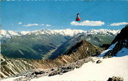 Davos - Luftseilbahn Parsenn-Weissfluhgipfel (1292) - GR Grisons