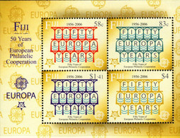 Fiji - 2005 - 50th Anniversary Of First Europa CEPT Stamps - Mint Stamp Sheetlet - Fiji (1970-...)