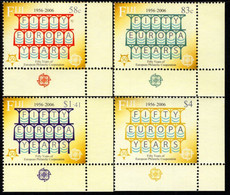Fiji - 2005 - 50th Anniversary Of First Europa CEPT Stamps - Mint Stamp Set - Fiji (1970-...)
