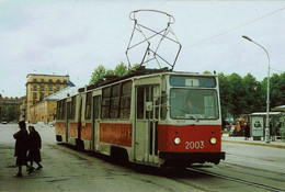 Tram Straßenbahn - Saint Petersburg - LVS-86K - Tramways