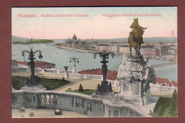 Hongrie - BUDAPEST - Kilatas A Varkertbol A Dunara - Hongarije