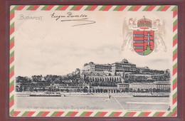 Hongrie - BUDAPEST - Kir Var Es Varbazar - 1901 - Präge - Hongarije