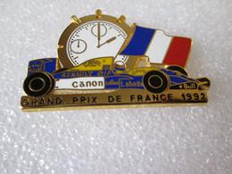 PIN'S   WILLIAMS  RENAULT    GRAND PRIX DE FRANCE 1992   Zamak  LOCOMOBILE  CANON  CAMEL   ELF  LABATTS BULL - F1