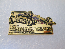 PIN'S MONOPLACE FORMULE 3 ROMAIN THILL VOLVO TOMCAT Email Grand Feu DEHA - F1