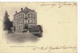 CPA   SERMAIZE Les BAINS    Café  Terminus - Sermaize-les-Bains