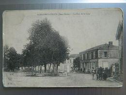 ST HILAIRE LA PALUD                     LA RUE DE LA GARE     ( Angles Arrondis   Voir Photos) - Other Municipalities
