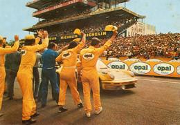 L Arrivee Victorieuse D Une Voiture OPAL Aux 24 Hueres Du Mans - Le Mans