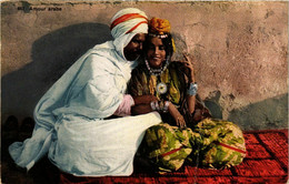 CPA AK Lehnert&Landrock 857 Amour Arabe TUNISIE (795623) - Tunesië