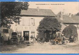 25 - Doubs - Montferrand - Restaurant De La Gare  (N4938) - Altri Comuni