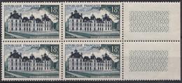 1954 FRANCE N** 980 MNH Bloc De 4 - Nuevos