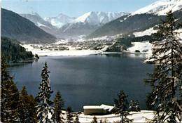 Davos - Blick Vom Höhwald über Den Davosersee (2013) * 28. 1. 1970 - GR Grisons