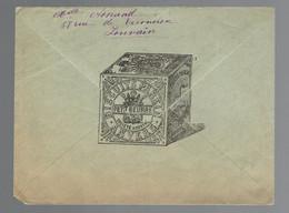 OC 12 & 14 / Lsc Illustrée Biscuits Parein Petit Beurre Anvers => Bouvignies Par Dinant - [OC1/25] Gov. Gen..
