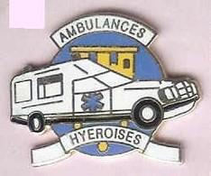 @@ Ambulance Hyèroises MERCEDES  Hyères Les Palmiers Var PACA (2.9x2.3) EGF @@med55 - Mercedes