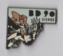 Pin's Festival De BD SIERRE 90. - Fumetti