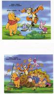 Antigua And Barbuda 1998 Disney Winnie The Pooh Cartoon 3 S/S MNH 2 Scans - Antigua And Barbuda (1981-...)