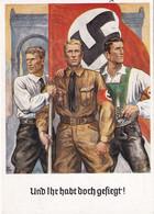 ALLEMAGNE 1938  ENTIER POSTAL/GANZSACHE/POSTAL STATIONERY CARTE DE PROPAGANDE DE MÜNCHEN - Briefe U. Dokumente