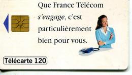 TELECARTE  France Telecom  120 UNITES.2.000.000.  EX. - Telecom Operators