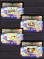 Georgien, 50 Jahre Europamarken, Block 35 - 38**. Kompletter Blocksatz. - 2006