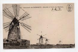 - CPA DJIBOUTI - Moulin à Vent Des Salines 1920 - Edition Vorperian N° 23 - - Gibuti