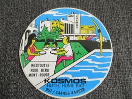 Sticker Hotel Kosmos Westouter - Stickers