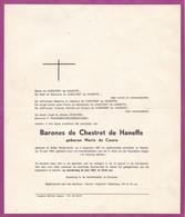 REKEM AMBY Marie De COUNE Barones De CHESTRET De HANEFFE 1881-1967 - Obituary Notices