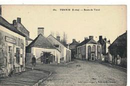 CPA   TENNIE   Route De Torcé , Café Jarry   N° 582 - Autres Communes