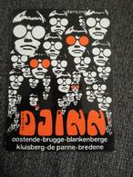 Sticker Autocollant Dancing Djinn Oostende Blankenberge Kluisberg De Panne Bredene - Stickers