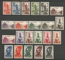 DAHOMEY Série N° 120 à 141 Complète NEUF**  SANS CHARNIERE / MNH - Unused Stamps