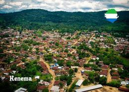 Sierra Leone Kenema Aerial View New Postcard - Sierra Leone